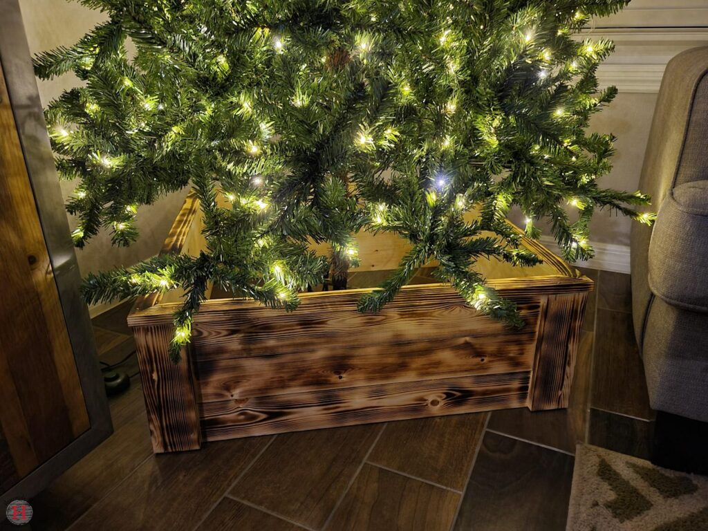 How To Build A Decorative Wooden Christmas Tree Box Homemade By Huseman